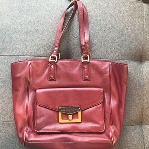 Marc by Marc Jacobs red tote